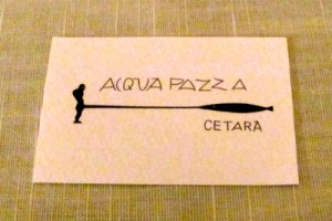 Acquapazza card