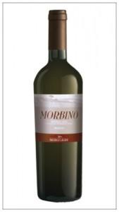Bottiglia Morbino Moscato secco Michele La Luce