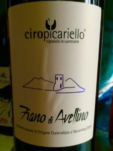 Un Classico: il Fiano di Ciro Picariello, un vino che non stanchi mai di bere