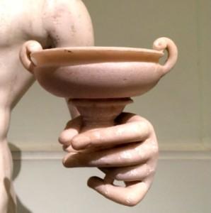 coppa romana al museo nazionale di Napoli