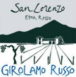 Etna rosso doc etichetta San lorenzo