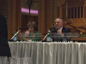 Silvia Imarato e Paolo Lauciani in degustazione