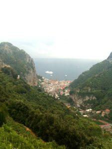 Amalfi veduta dall'alto