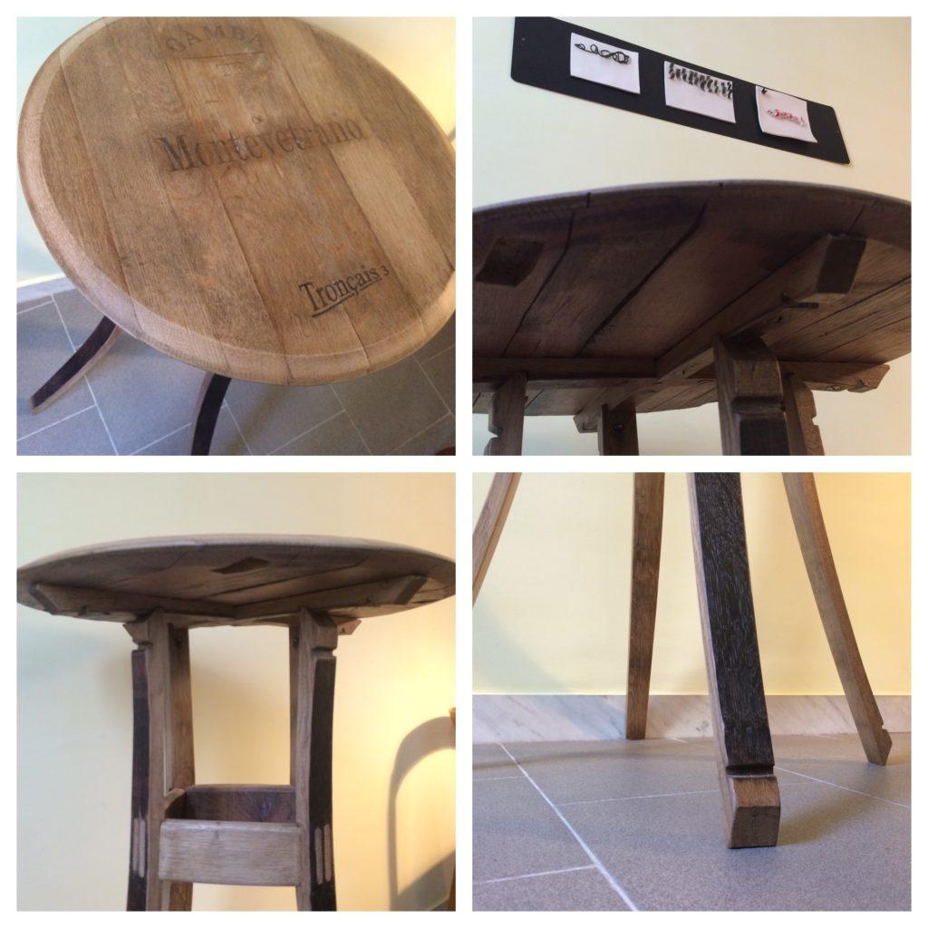 Il tavolino barrique
